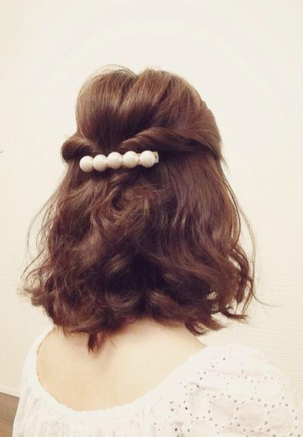 簡単なのに髪型お洒落さん ミディアムヘアの時短ヘアアレンジ5選