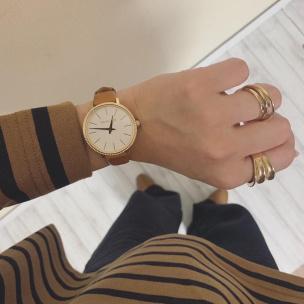 マイケル・コース キラキラ輝くストーン付き上品ストラップの腕時計が登場!