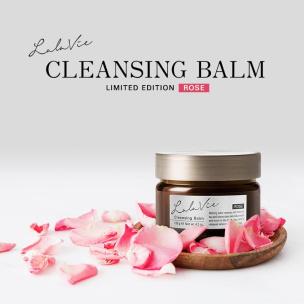 オイルイン美容ブランド『Lala Vie(ララヴィ)』より人気のクレンジングバームにダマスクローズの香りが限定発売!