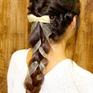 [ロングヘア]簡単ヘアアレンジのやり方・作り方!結婚式やパーティー、二次会向けの可愛い髪型まとめ (1/2)