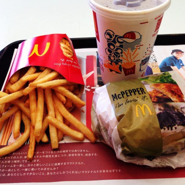 マクドナルド 低 カロリー